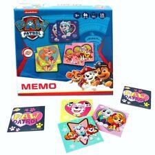 Memo Spiel Mädchen | 36 Legekarten | Paw Patrol | Kinder-/ Familienspiel
