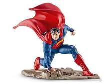 Schleich 22505 Superman, Kneeling 4 11/16in Series Comic