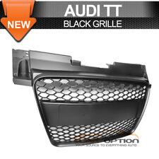 Fits 06-09 Audi TT 8J Front Mesh Hood Grille Grill All Black