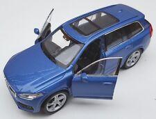 BLITZ VERSAND Volvo XC 90 blau / blue Welly Modell Auto 1:34-39 NEU & OVP