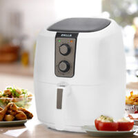 DELLA 1800W XL Electric Air Fryer Cooker Air Circulation System Low-Fat White