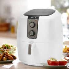 1800W XL Electric Air Fryer Cooker Rapid Air Circulation System Low-Fat White