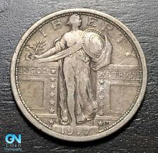 1917 D TYPE 1 Standing Liberty Quarter  --  MAKE US AN OFFER!  #B8555