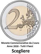 Tutti i Paesi Disponibili - 2 EUROS COMMEMORATIVI - Anni 2020 UNCIRCULATED