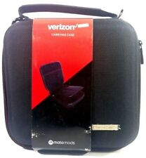 New Verizon Moto Mods Carrying Case With Customized Pockets - Black