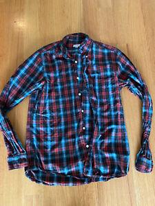 Steve Alan Plaid Button-Down Shirt