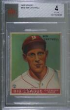 1933 Goudey Big League Chewing Gum R319 Ben Cantwell #139 BVG 4 RC