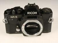 PRL) RICOH KR-5 FOTOCAMERA ANALOGICA FOTORIPARATORE BODY SPARE PARTS REPAIR