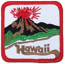 Hawaii Volcano Patch - HI Volcanic Islands (Iron on)