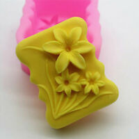 Flower Silicone Fondant Cake Mould Decor Chocolate Jelly Soap Mold Sugar Craft