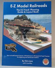 BACHMANN HO E-Z TRACK MODEL RR PLANNING GUIDE BOOK train scale gauge ez 99978