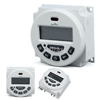 Practical LCD Digital Weekly Programmable Power Timer Time Relay Switch US
