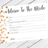 Hen Party Accessories Advice To The Bride Hen Party Games Words Of Wisdom Polka