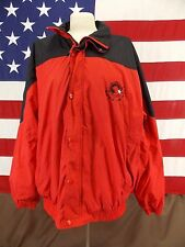 Matco Tools Coat Jacket Good As Gold Black Red Full Zip Windbreaker Sz XL Men's