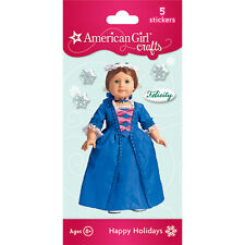 AMERICAN GIRL  FELICITY PUFFY~BUBBLE STICKER! CHRISTMAS GOWN~STOMACHER!