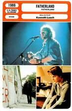 FICHE CINEMA : FATHERLAND - Pannach,Babe,Loach 1986