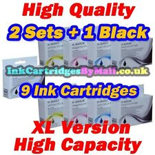 9 HQ CHIPPED Compatible Ink Cartridges HP 364XL Black Cyan Magenta Yellow