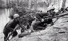Russian Snipers, Mosin-Nagant Rifles, WW2 Photo World War Two Russia / 1088