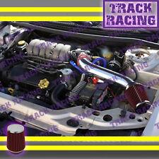 95-00 DODGE STRATUS CHRYSLER SEBRING CIRRUS V6 LONG AIR INTAKE KIT Red 2