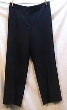 Escada Women's Black Wool Pant Size 44 US Size 10 or 12