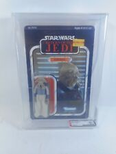 VINTAGE STAR WARS SQUID HEAD SEALED 77 BACK CLEAR BUBBLE AFA 80 NM KENNER 1983