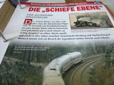 Deutsche Eisenbahngeschichte Zugverkehr Die schiefe Ebene