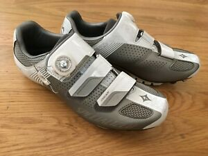 SPECIALIZED Cascade MTB Cycling Shoes Women's 41 US 9.5 in white, gray, clipless