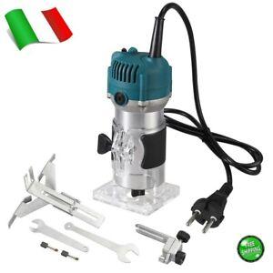 Fresatrice Verticale Elettrica Rifilatore fresa Legno Trimmer Router for Makita