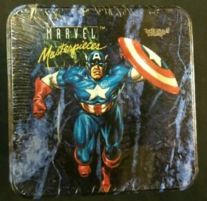 1993 MARVEL MASTERPIECES SERIES 1 TIN, SET INC. FOIL CARDS JOE JUSKO ART SEALED
