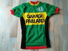 MAILLOT CYCLISTE VELO NORET RLB GARAGE PAILLARD TAILLE S/2 TBE