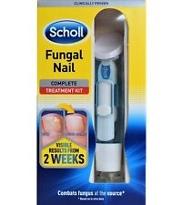 Scholl Anti Fungal Treatment System Complete Kit Kills Nail Fungus Fungi 3.8ml