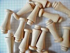 40mm Shaker pegs x 10 British Made Strong Hooks  Hangers