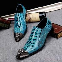 Chic New  Men/'s Graffit Cow Leather Casual Moccasins Driving Slip On Loafer BJ51