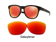 Galaxy Lentes de Repuesto para Oakley Frogskins Gafas de Sol Prizm Color Rojo
