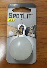 Nite Ize Spotlit White LED Stainless Steel Carabiner SLG-06-02 New