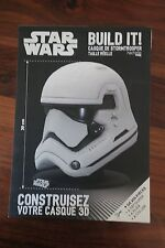 STAR WARS  BUILD IT - CONSTRUISEZ VOTRE CASQUE 3D  --  LIVRE PAPIER