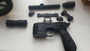 STAR WARS 3D printed Han Solo Blaster DL-44 Cosplay, toy, model kit Unasembled.