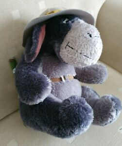 Walt Disney World Eeyore Winnie The Pooh Safari Explorer Plush Soft Toy