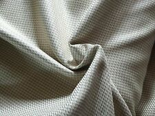 Cream and Taupe Silk/Wool Suiting
