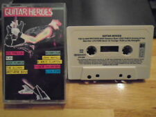 RARE OOP Guitar Heroes CASSETTE TAPE Lita Ford RUSH Ace Frehley KISS Scorpions +