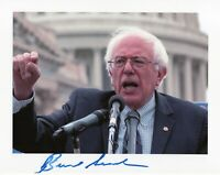 Bernie Sanders Autographed 8.5 x 11 in. Photo