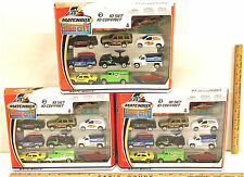 3 Sets 2002 Matchbox Hero City Collection #2 10 Car Set Mattel 30 Piece Lot NIB