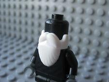 LEGO Minifig - PICK YOUR COLOR !! Wizard Long Beard Headgear
