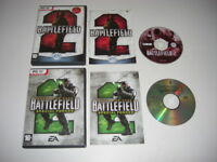 BATTLEFIELD 2 + SPECIAL FORCES Add-On Expansion Pc DVD Rom BF BF2  BATTLE FIELD