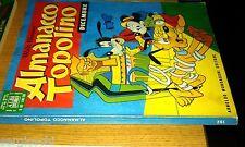 ALMANACCO TOPOLINO - 1972 # 192 - - MONDADORI - WALT DISNEY-con cedola e bollino