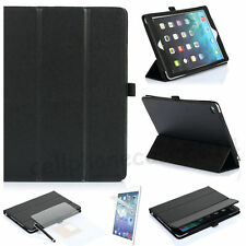 Apple iPad Air 2 Smart Cover Stand Stripe Magnetic Ultra Slim WakeUP Case Black