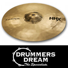 "SABIAN HHX 20"" Evolution Ride Cymbal Brand New with 2 Year Warranty RRP $699"