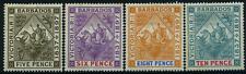 "Barbados 1887 ""60 J. Regentschaft"", MiNr 57x, 58x, 59x, 60x  mit Falz  MH"