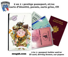 la haut up pixar disney 105 protège carte grise permis passeport passport cover