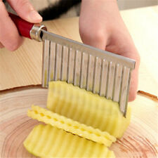 New Stainless Steel Potato Chip French Fry Maker  Slicer Dough Vegetable/Fruit S
